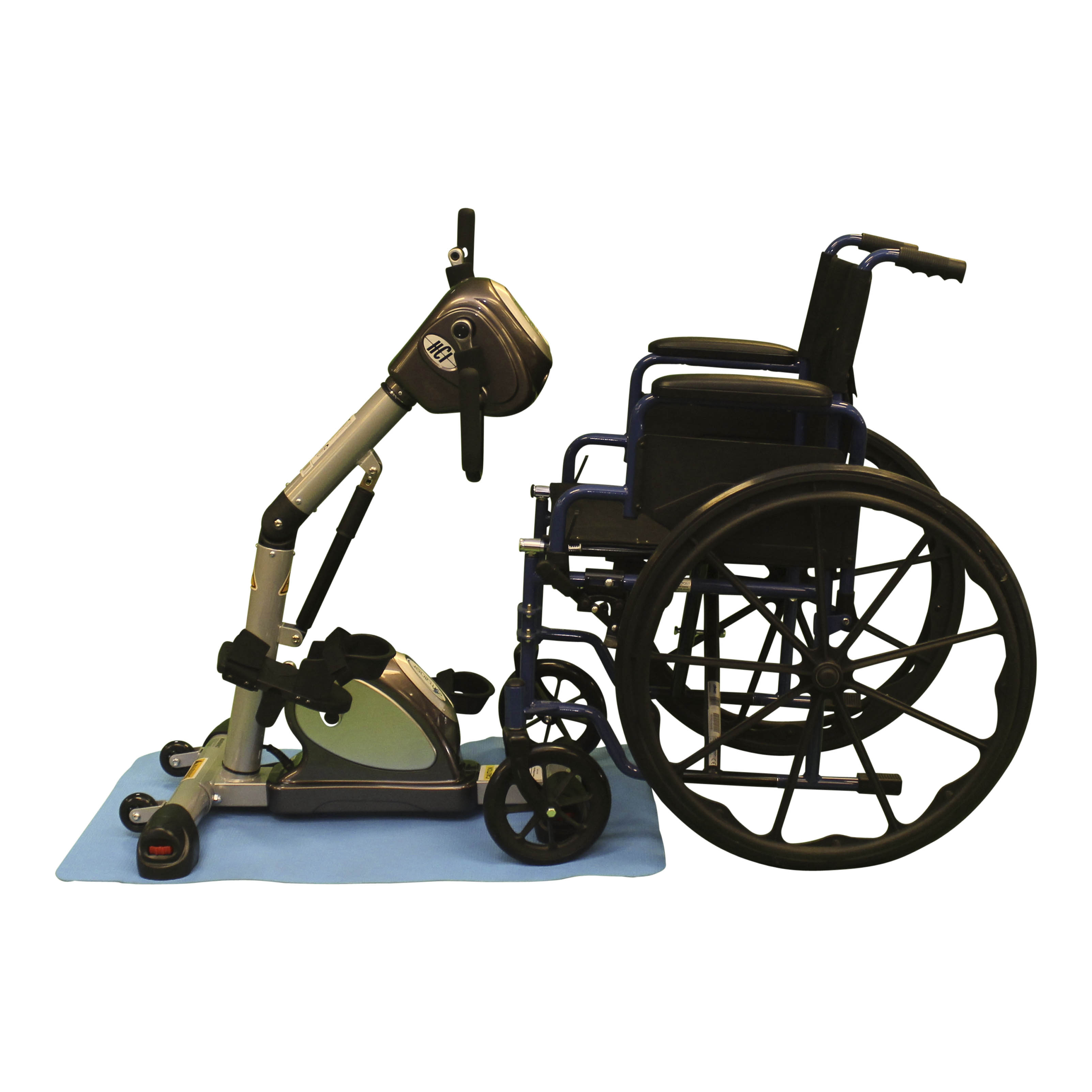 eTrainer Active Passive Trainer for use with wheelchair