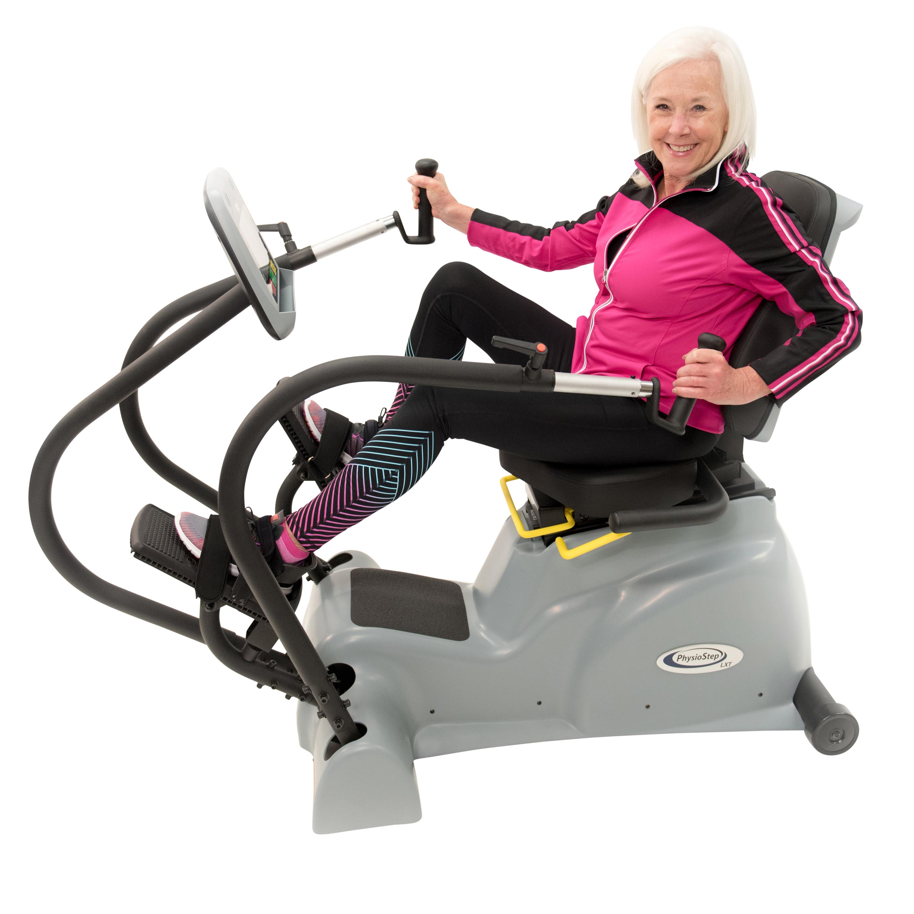 PhysioStep LXT Senior Recumbent Linear Stepper and Cross ...