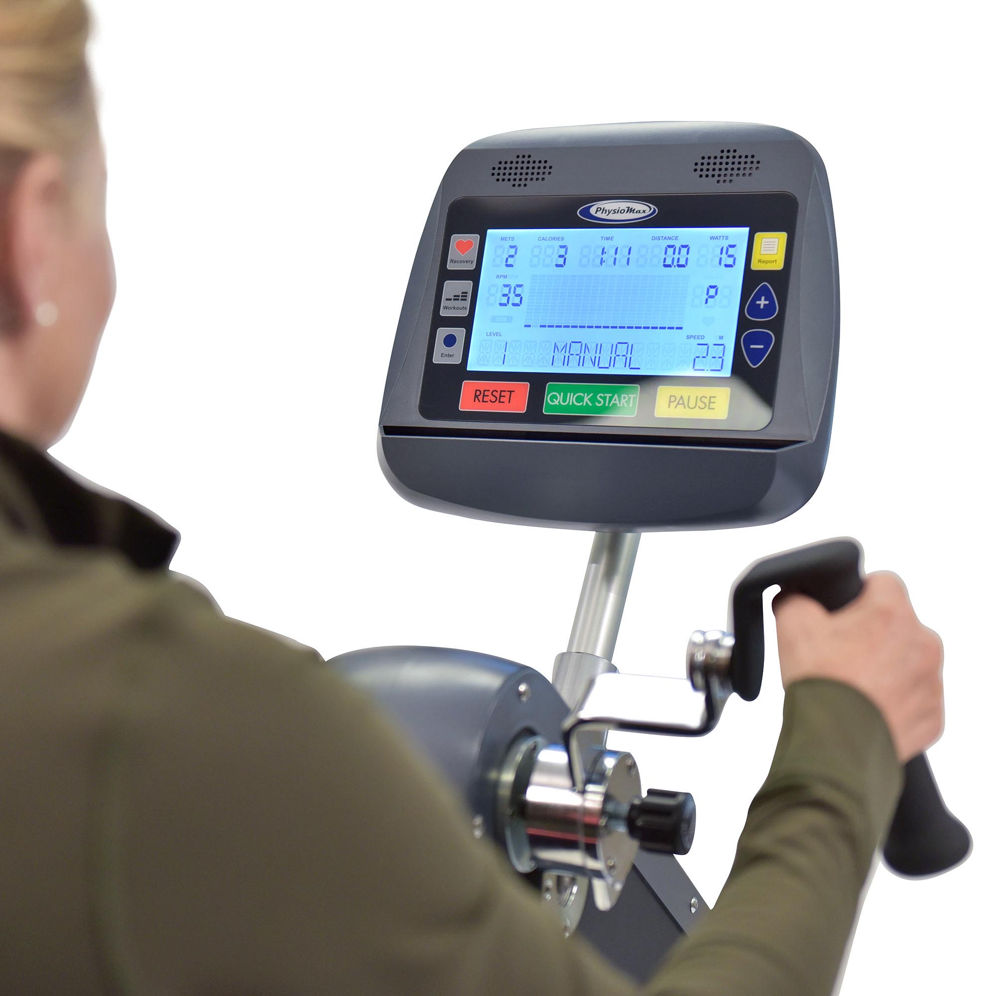 PhysioMax Display Watts and METS Total Body Trainer