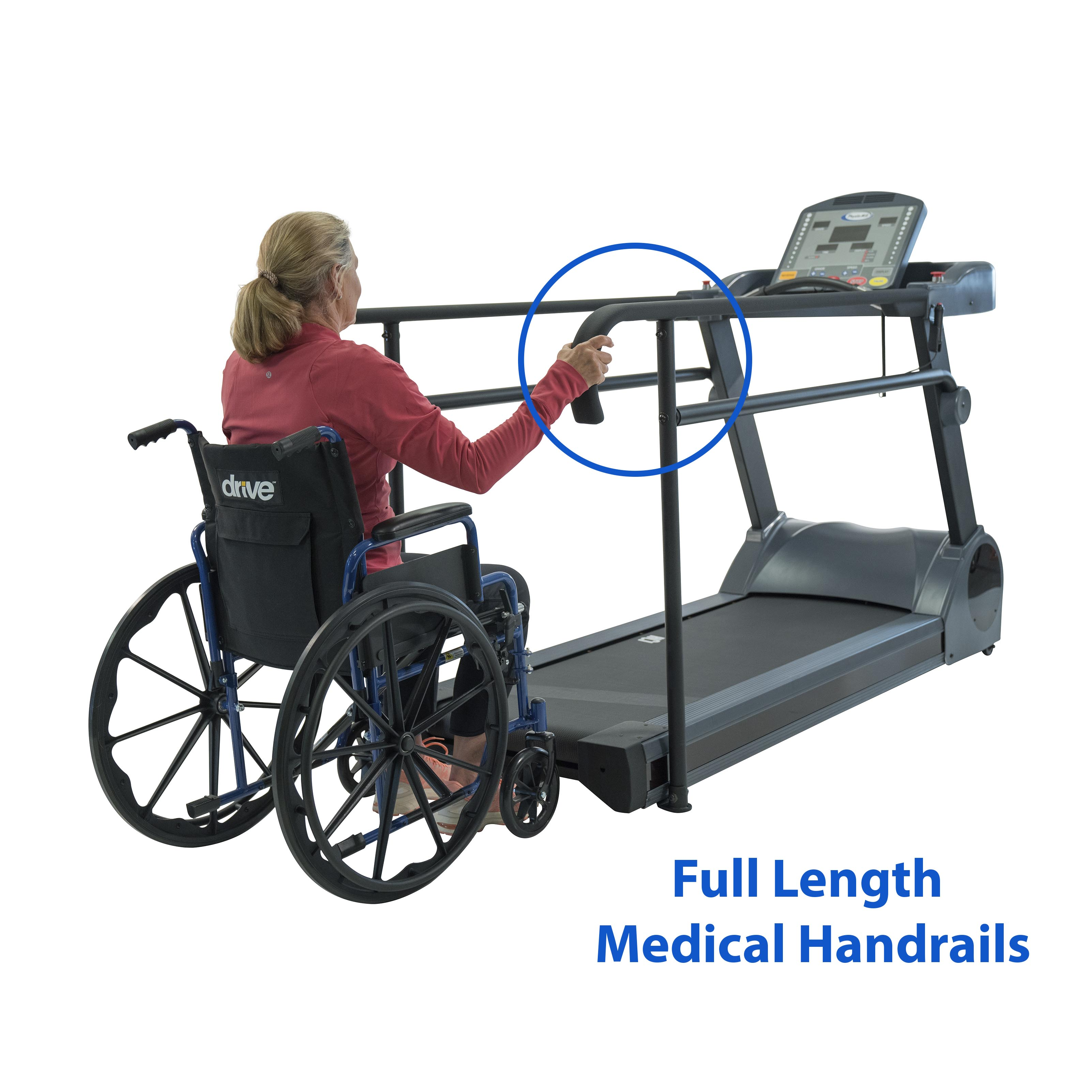 PhysioMill Rehabilitation Treadmill Wheel