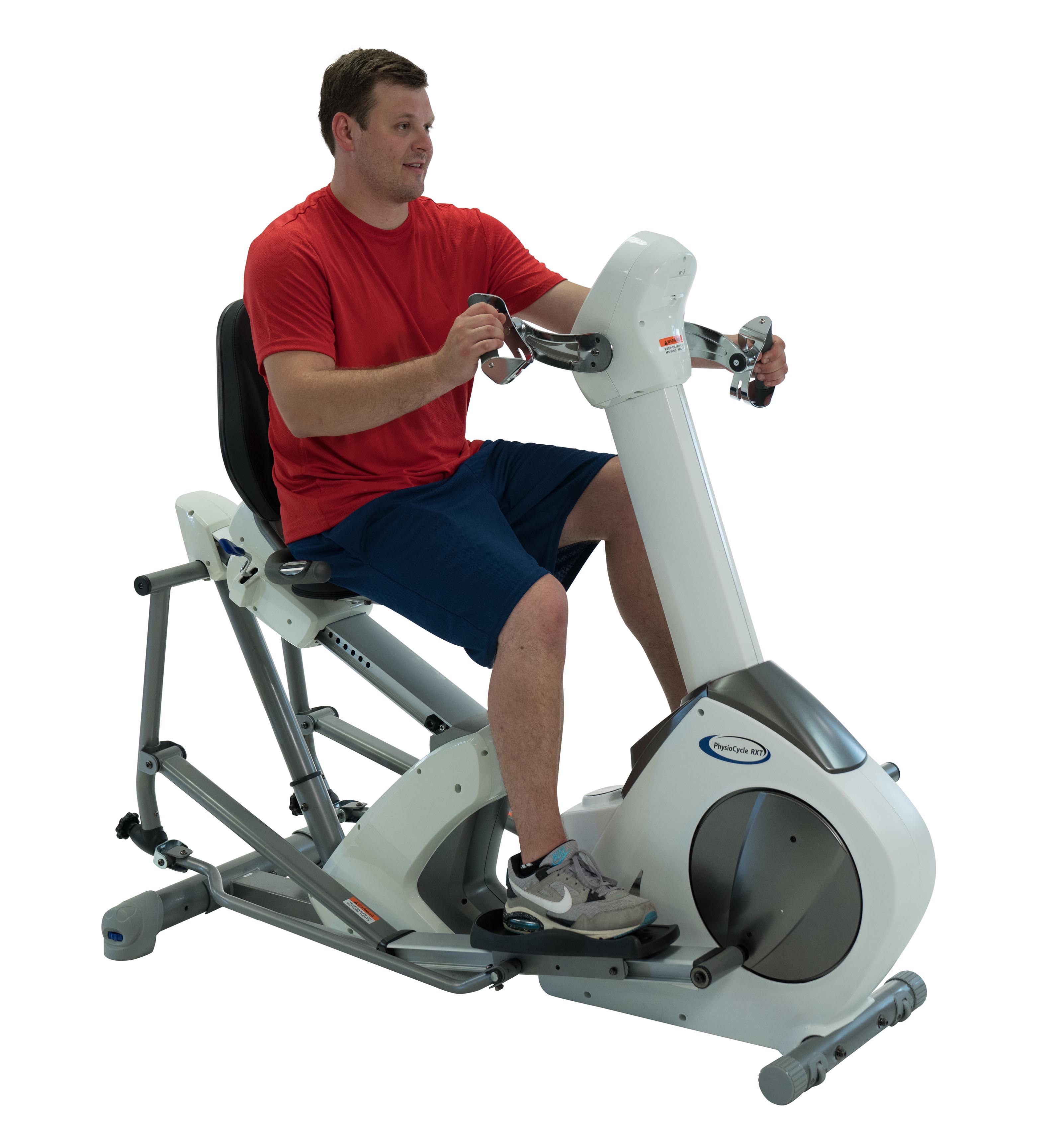 PhysioCycle RXT Hybrid Seated Elliptical Stepper with Upper Body